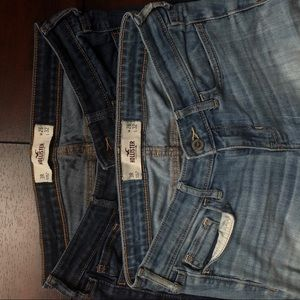 (2) Hollister Size 3 R Jeans
